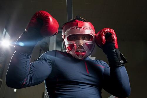 casque de boxe